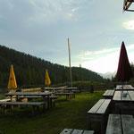 Abendstimmung auf der Hochmölbinghütte