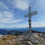 Gipfelkreuz des Hohen Nocks
