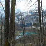 Wunderschöner Ausblick auf den Stausee Klaus und den Elisabethsee