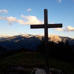 Gipfelkreuz des Blosskogels