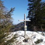 Gipfelkreuz des Schneiderberges
