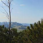 Auch während des Abstieges bieten sich einige wunderschöne Ausblicke auf die Postalm