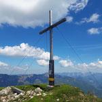 Gipfelkreuz des Hohen Kalmbergs