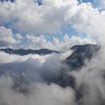 """Ausblick """"über den Wolken"""""""