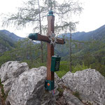 """""""Erstes"""" Gipfelkreuz des Ebenwieselsteins"""