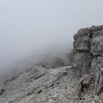 Tolle Felsformationen am Rückweg