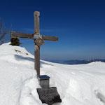 Gipfelkreuz des Adlersteins
