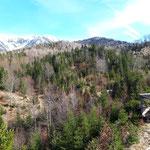 Ausblick von einem der kleinen namenlosen Gipfeln