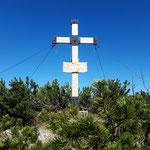 Gipfelkreuz des Wasserklotzes
