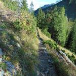 Wegerlauf des Grazer Steiges