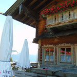 Terrasse des Sattelbauern