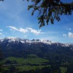 Blick auf Warscheneck, Schrockengrat,...