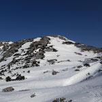 Auf geht's zum Niederen Speikberg, dessen Gipfel direkt vor uns liegt
