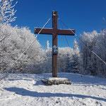 Gipfelkreuz des Hochbuchberges