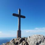 Gipfelkreuz des Schafberges