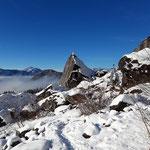 Das Kleine Matterhorn - erinnert in der Form definitiv an den größeren Namensgeber