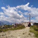 Gipfel des Hüttenkogels