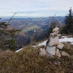 Steinmännchen am Koglerstein