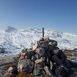 Am Margschierf Gipfel angekommen