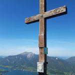 Gipfelkreuz des Sparbers