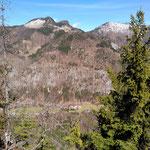 Blick vom Gipfel in Richtung Hochsalm