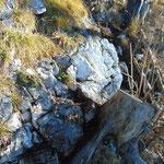 Unter anderem sind an der einen oder anderen Stelle Felspassagen zu überkraxeln