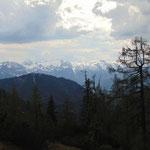 Ausblick auf das Tennengebirge