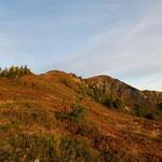 Blick vom Gipfel Richtung Höllwand