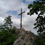 Gipfel des kleinen Landsberges