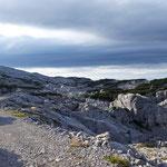 Blick auf die umliegende Landschaft