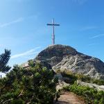 Gipfelkreuz des Saukarfunktels