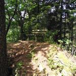 Pausenplätze entlang des Weges