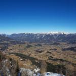 Was für ein Panorama am Gipfel!