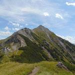 Der Schwarzkopf Gipfel war bereits näher gerückt