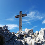 .... und dann ist das Gipfelkreuz des Bosruck erreicht!