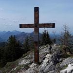Gipfelkreuz des Pfannsteins