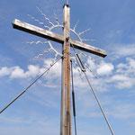 Gipfelkreuz des Stoananen Jagas
