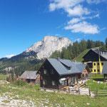 Blick auf den Stubwieswipfel von der Bergstation Wurzeralm aus