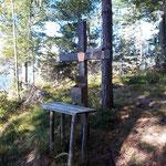 Gipfelkreuz des Radingberges
