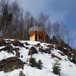 Als nächstes passieren wir die Panoramaplattform Hollerberg, der wir gleich einen Besuch abstatten