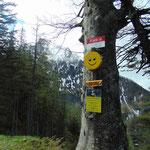 Der Smiley wird immer fröhlicher - noch 10 Minuten
