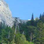 Die Welser Hütte - das erste Ziel