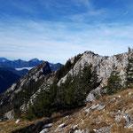 Ausblick Richtung Falkenmauer und Almtal