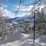 Gipfelkreuz des Gunst