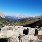 Ausblick bei der Goinger Festung
