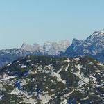 Blick ins Tote Gebirge - links der Fäustling