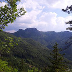 Ausblick auf den gegenüberliegenden Windhagkogel