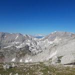 Ausblick in den eher wenig erschlossenen Teil des Toten Gebirges westlich von uns