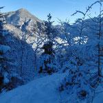 Weiter durch den Schnee