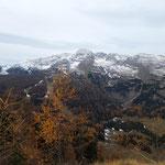 Blick am Gipfel auf den Warscheneckstock
